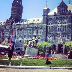 Photo taken at Georgetown University by Björn S. on 5/17/2013
