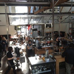 Photo taken at Intelligentsia Coffee & Tea by Jim C. on 12/18/2012