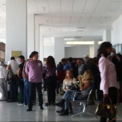 Photo taken at Terminal 2 Aeropuerto de Lanzarote (ACE) by JULIAN G. on 3/27/2013