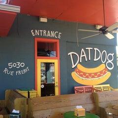 Photo taken at Dat Dog by Potomac S. on 3/25/2013