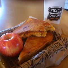 Photo taken at Melt Down Grilled Cheese by Ben O. on 8/31/2013