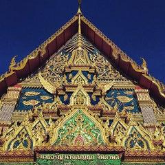 Photo taken at วัดพุทธมงคลนิมิตร (Wat Buddhamongkolnimit) by Tim L. on 3/31/2015