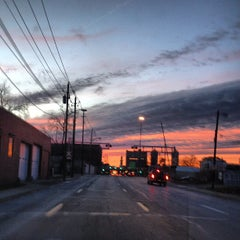 Photo taken at Michigan Street Railroad Crossing by Ben R. on 12/4/2012