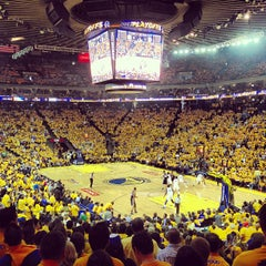 Photo taken at Oracle Arena by Brian P. on 5/17/2013