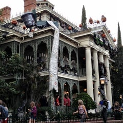 Photo taken at Haunted Mansion by Vanessa G. on 10/7/2012