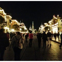 Photo taken at Main Street, U.S.A. by Vanessa G. on 11/10/2012