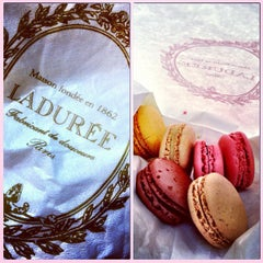 Photo taken at Ladurée by Daniela G. on 12/30/2012
