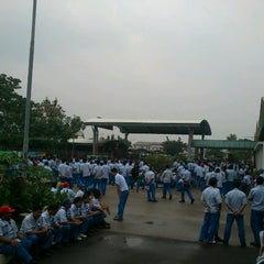 Photo taken at Yamaha Indonesia Motor Manufacturing by Ary K. on 7/9/2013