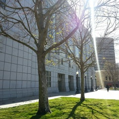 Photo taken at San Francisco Public Library - Main Library by Santiago V. on 2/25/2013