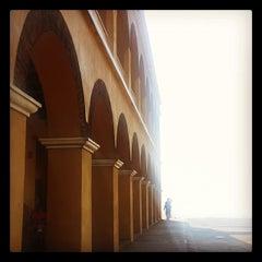 Photo taken at Castillo de Salgar by Santiago V. on 1/3/2014