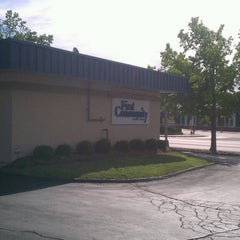 Photo taken at First Community Credit Union by toney e. on 6/28/2013