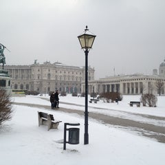 Photo taken at Österreichische Nationalbibliothek - Austrian National Library by Pascale U. on 2/22/2013