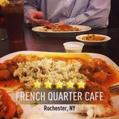 Photo taken at French Quarter Cafe by Jennifer C. on 4/12/2013
