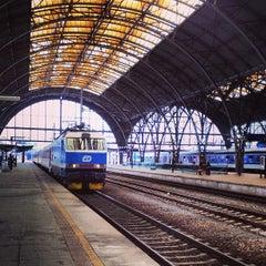 Photo taken at Praha hlavní nádraží | Prague Main Railway Station by Shonika on 5/6/2013