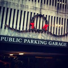 Photo taken at Market Street Parking Garage by Emily A. on 12/6/2012