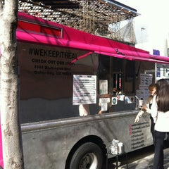 Photo taken at Coolhaus Truck by Tom C. on 1/30/2013