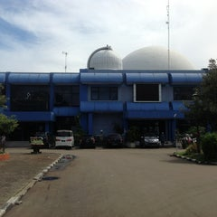 Photo taken at Planetarium Jakarta by Supriadi on 12/22/2012