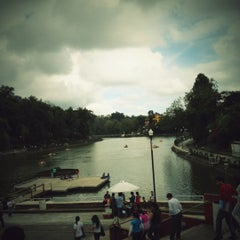 Photo taken at Parque de Los Lagos by Evarista T. on 9/29/2012