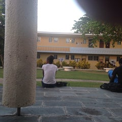 Photo taken at The University of the West Indies by Mr A. on 9/15/2014