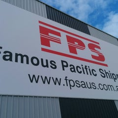 Photo taken at Famous Pacific Shipping by Andrew S. on 11/14/2013