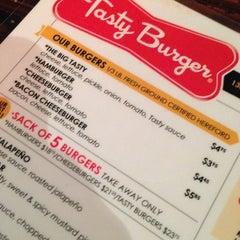 Photo taken at Tasty Burger by Christine C. on 12/10/2012