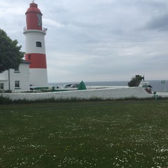 Photo taken at Souter Lighthouse by Zeon C. on 6/16/2015