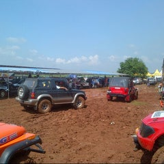 Photo taken at Sirkuit Offroad Harvest City by Fredrik M. on 11/24/2012