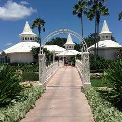 Photo taken at Disney's Wedding Pavilion by Troy M. on 7/7/2013