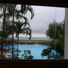 Photo taken at Miri Marriott Resort & Spa by Fatin H. on 3/18/2013