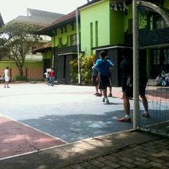 Photo taken at SMA Negeri 3 Malang by Ira M. on 12/18/2012