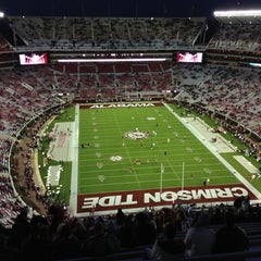 Photo taken at Bryant-Denny Stadium by Ryan R. on 10/27/2012