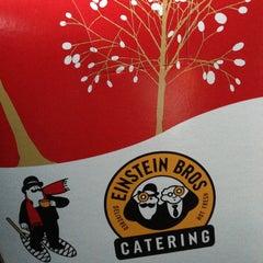 Photo taken at Einstein Bros. Bagels by Felix B. on 12/7/2012