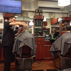 Photo taken at Clinton Street Barbershop by Kevin W. on 8/15/2014