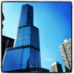 Photo taken at Trump International Hotel & Tower Chicago by Ashland T. on 10/5/2012