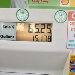 Photo taken at Shell by Betty Boop♏️ on 10/19/2012