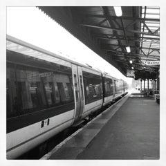 Photo taken at Leamington Spa Railway Station (LMS) by Maria on 9/24/2012