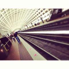 Photo taken at Pentagon City Metro Station by Ku M. on 4/27/2013