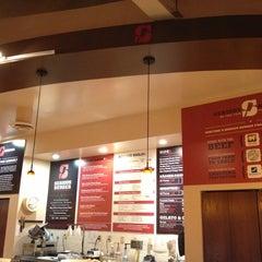 Photo taken at Serious Burger by Ku M. on 10/5/2012