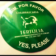 Photo taken at Churrascaria Tertúlia by Anderson S. on 9/30/2012
