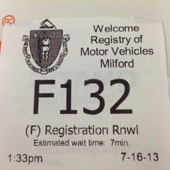 Photo taken at Registry of Motor Vehicles by Nik A. on 7/16/2013
