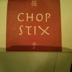 Photo taken at Chop Stix by Andrew B. on 4/13/2013