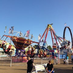 Photo taken at Mississippi State Fairgrounds by David D. on 10/10/2013