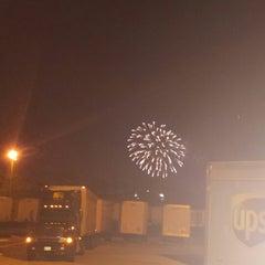 Photo taken at UPS Nassau Hub by bryan p. on 8/7/2014