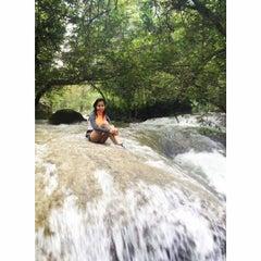 Photo taken at Cascada Micos by Perla C. on 7/25/2015