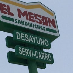 Photo taken at El Meson Sandwiches by Esther R. on 7/20/2014