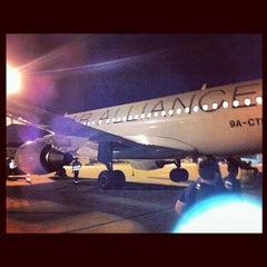 Photo taken at Dubrovnik Airport (DBV) by Božidar Š. on 9/22/2012