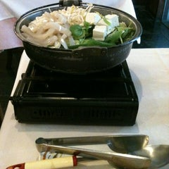 Photo taken at Kamiya Sushi & Sukiyaki by Caio C. on 1/12/2013