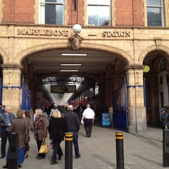 Photo taken at Marylebone Station Bus Stop P by Soteris on 3/6/2013