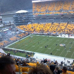 Photo taken at Heinz Field by Brent O. on 12/10/2012