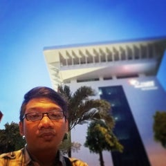 Photo taken at PT. Telkom by Yohanes Bonny Alanuary Mahatma Rendra on 2/24/2015